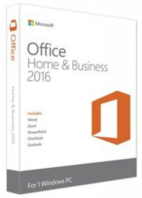 Microsoft Office Home and Business 2016 English Medialess T5D-02841 מיקרוסופט