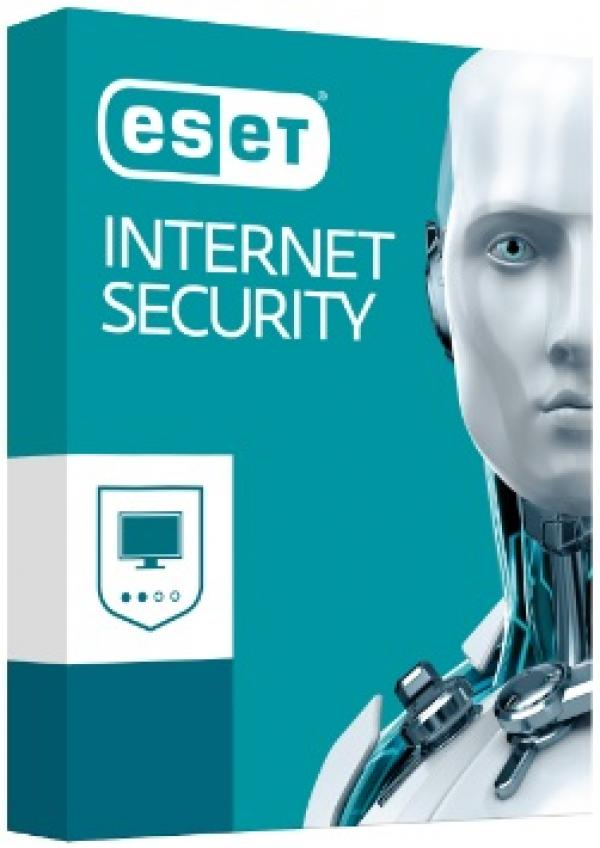 ESET Internet Security מכשיר 1 - 3 שנים