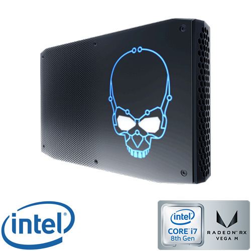 מחשב Intel Core i7 Intel NUC NUC8I7HNK2 Mini PC