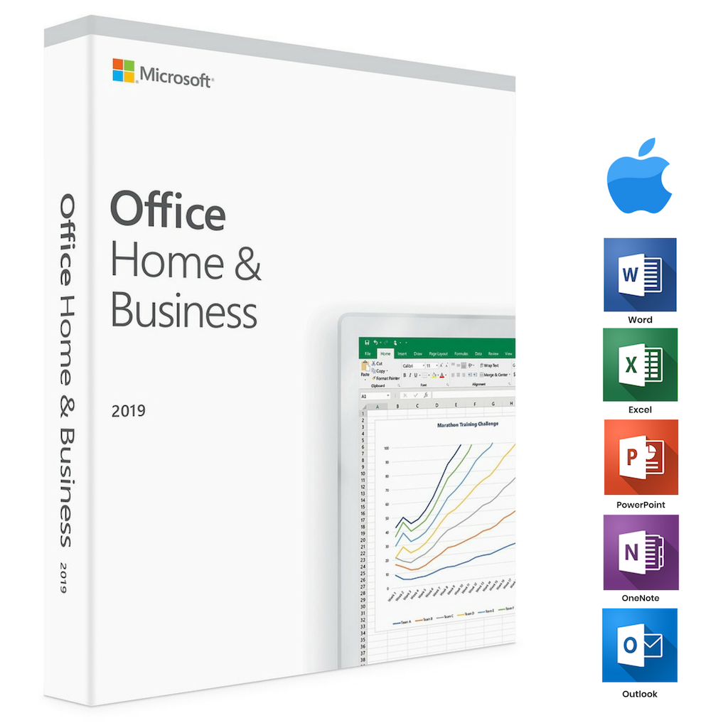 Microsoft Office Home and Business 2019 All Lng T5D-03185 מיקרוסופט