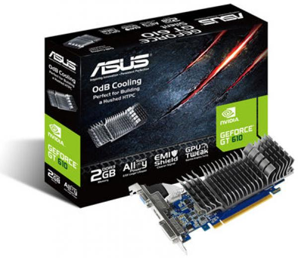 Asus GT610 Silent 2GB DDR3 DX11