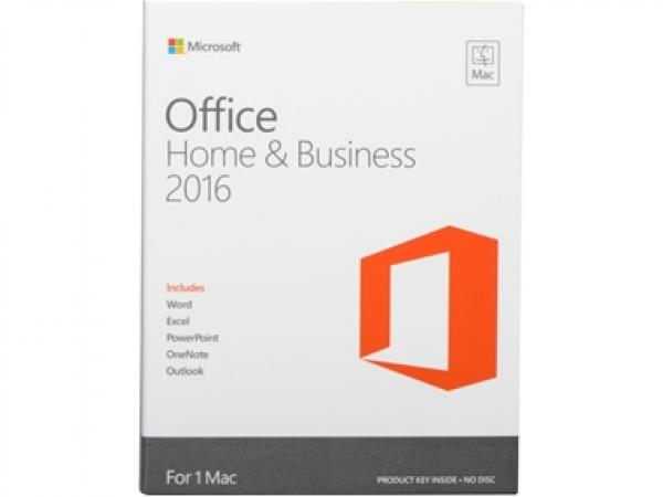 Office Home & Business 2016 for Mac English Medialess Microsoft מיקרוסופט