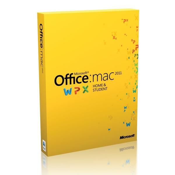 Office Home & Student 2011 for Mac English Medialess Microsoft מיקרוסופט