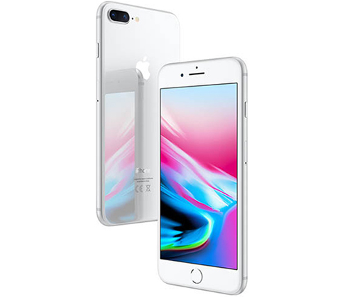 אייפון Apple iPhone 8 Plus 64GB בצבע כסוף - שנה אחריות היבואן הרשמי