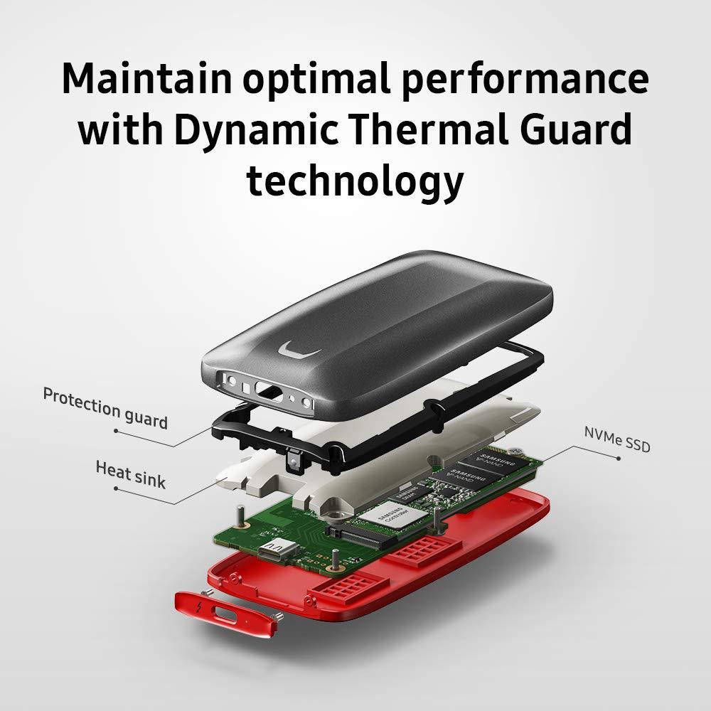 כונן SSD חיצוני Samsung 2000GB MU-PB2T0B/WW
