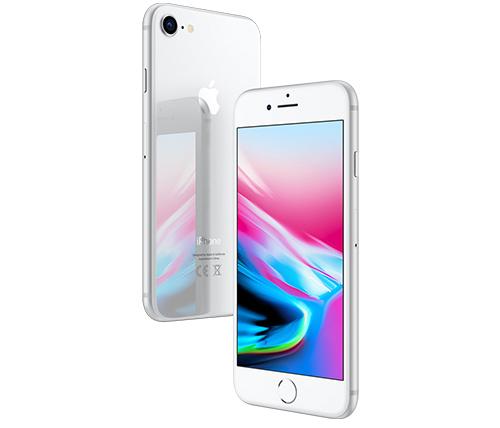 אייפון Apple iPhone 8 64GB בצבע כסוף - שנה אחריות היבואן הרשמי