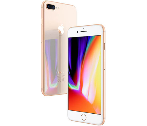 אייפון Apple iPhone 8 Plus 64GB בצבע זהב - שנה אחריות היבואן הרשמי