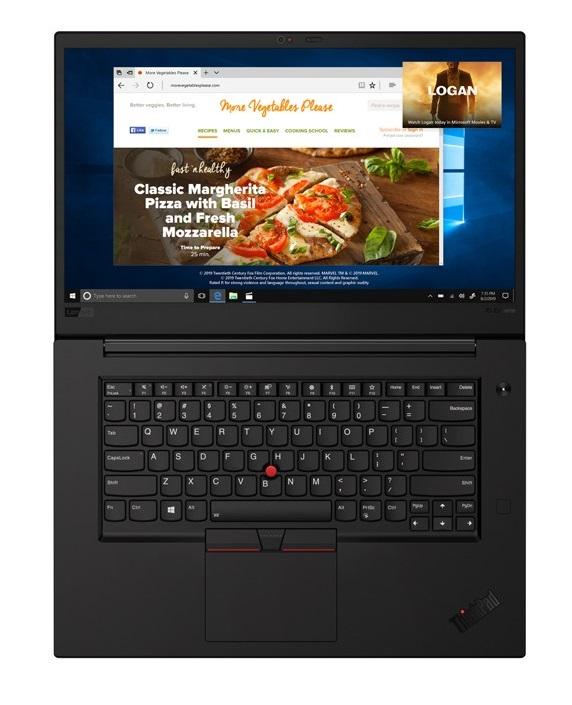 מחשב נייד Lenovo ThinkPad X1 Extreme 2nd Gen Carbon 20QV000XIV לנובו
