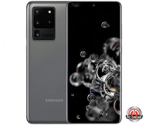 סמארטפון Samsung Galaxy S20 Ultra G988 128GB בצבע אפור - שנה אחריות יבואן הרשמי